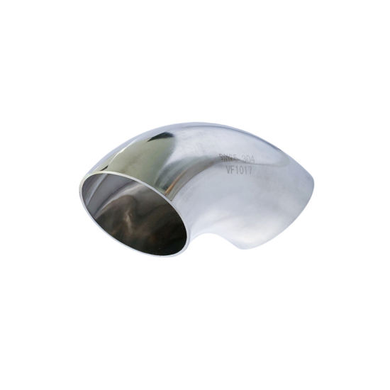 Ss Hygienic Stainless Steel Water Pipe 90 Deg 1.5D Elbow