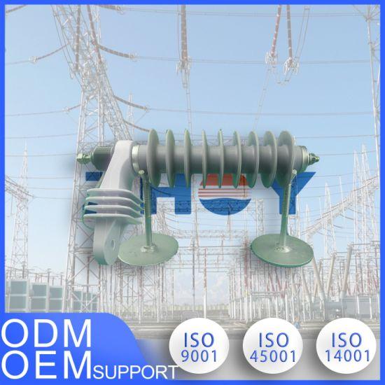 15kv 10ka Power Distribution Surge Arrester with ISO Certification