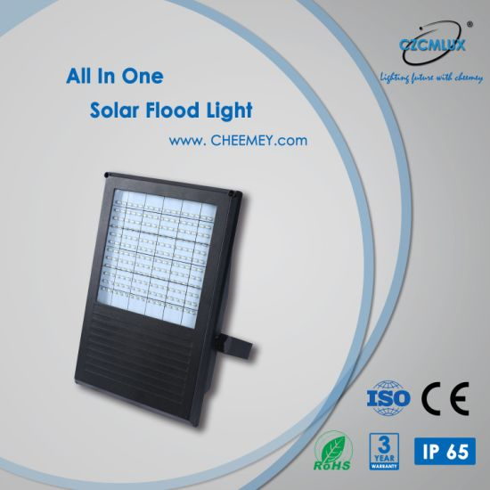 5W All in One LED Solar Street Flood Light for Outdoor