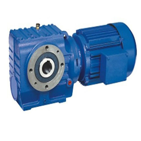 Hollow Output Shaft Helical Worm Speed Reducer