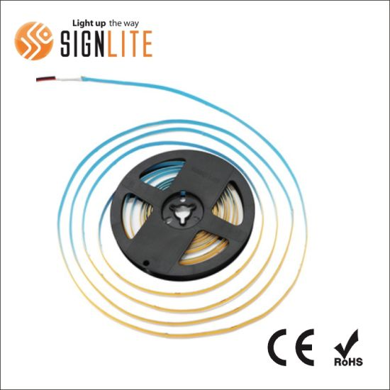 New Replace High Color Free Fob COB Flexible LED Strip with