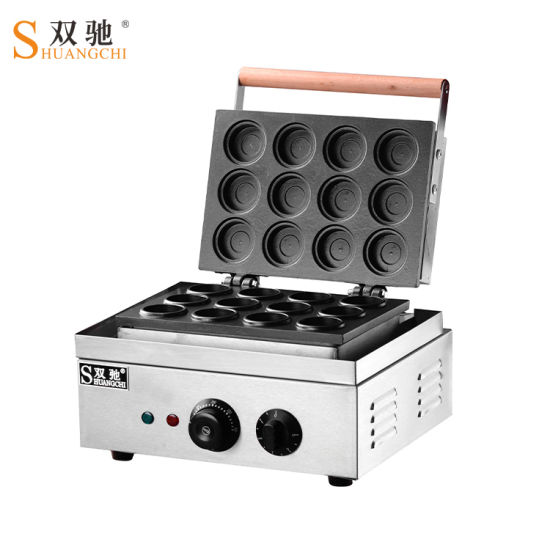 Stainless Steel Electric 12 Hole Wheel Pie Making Machine pictures & photos