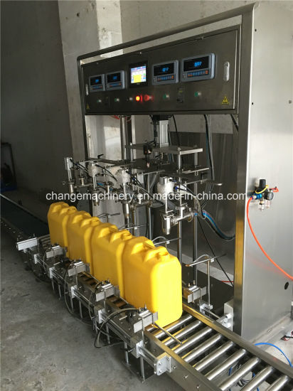 Automatic Liquid Dish Detergent Bottling Machine pictures & photos
