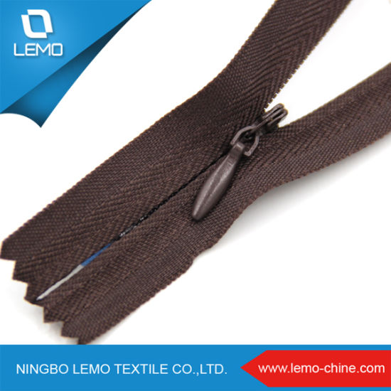 Custom Ykk Invisible Zipper for Clothes