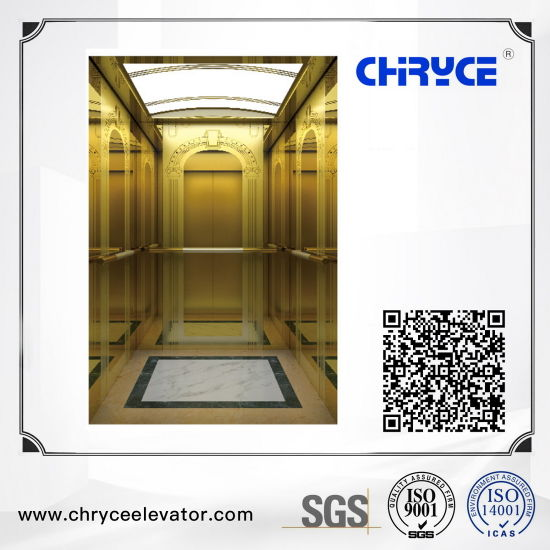 FUJI Sightseeing Home Villa Passenger Elevator with Machine Room From China Manufacturer