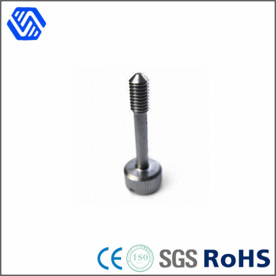 China Customized Carbon Steel Knurled Nut Half Thread Nickel Plating