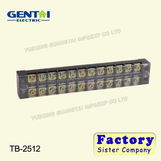 Good Quality DIN Rail Mount Screw Fixed Combined Terminal Block
