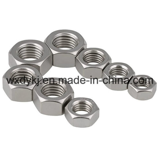 DIN 934 Stainless Steel 304 Hex Nut pictures & photos