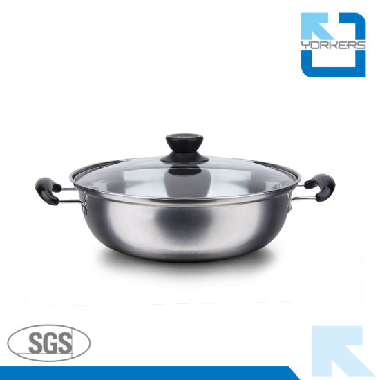 Stainless Steel Hot Pot and Stock/Soup/Cooking Pot