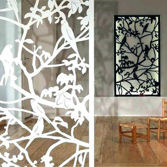 China Wholesale High Quality Aluminum Custom Made Hollow Wall Art