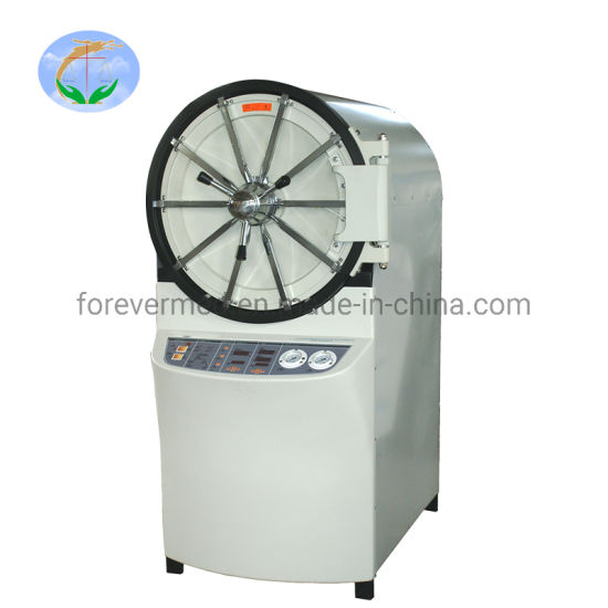 Medical Auto-Control Horizontal Laboratory Medical Steam Pressure Sterilizer pictures & photos