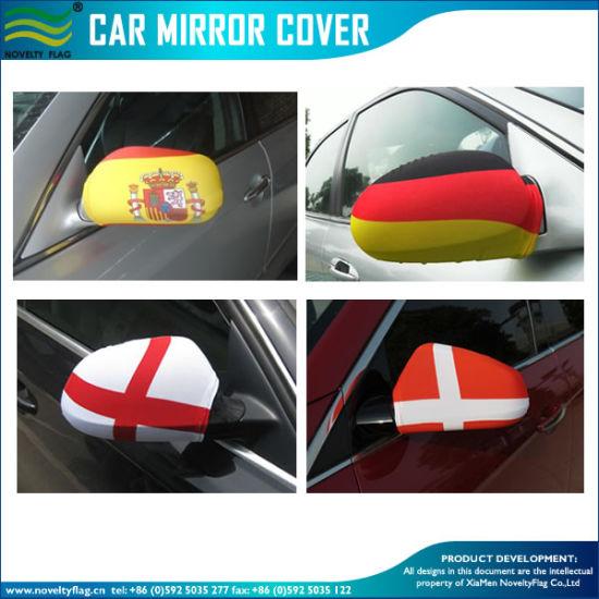 China Custom Flexible Car Flag Side Mirror Socks