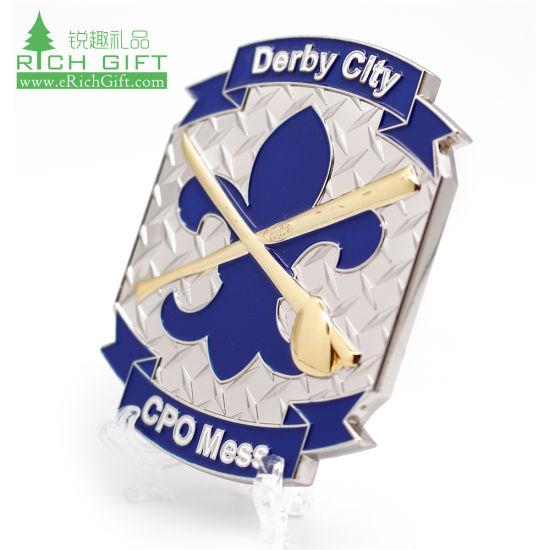 Wholesale Cheap Metal Donald Trump Knight Templar Religious Football Sports Golf Russian Us Marshal Marine Corps Coin Keychain Bible Irish Custom Challenge Coin