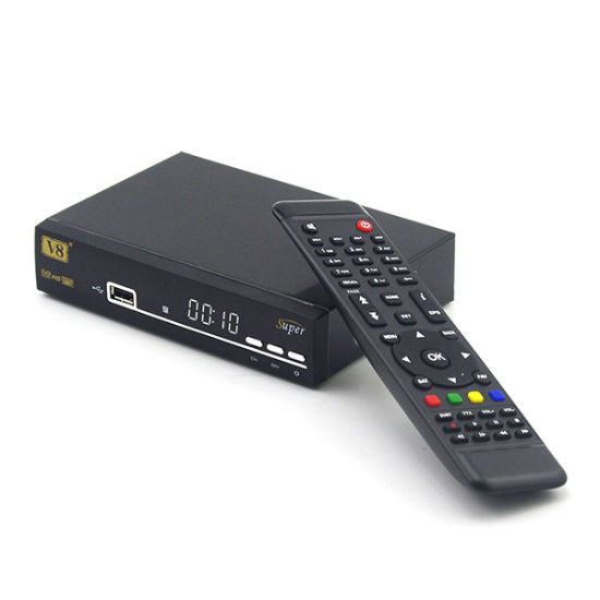 DVB-S2 Digital Satellite Receiver V8 Super Set Top Box pictures & photos