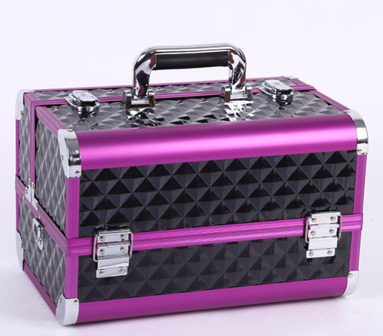 2018 Fashion Hot Professional Cosmetic Make up Beauty Case