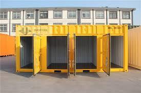 Side Open Self Storage Container 20FT Storage Shipping Container