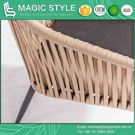 Tape Weaving Chair Bandage Chair Strip Furniture Aluminum Table (Magic Style) pictures & photos