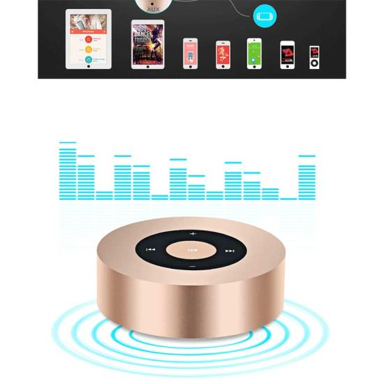 OEM Mini Portable Wireless Bluetooth Speaker pictures & photos