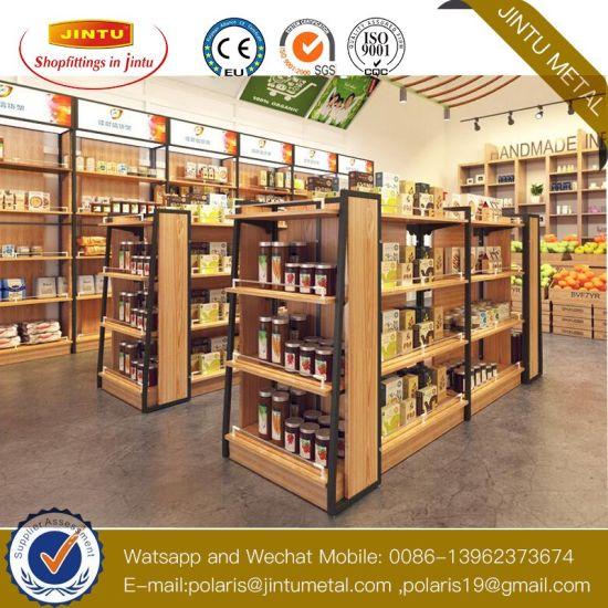 Whosale Commercial Heavy Duty Supermarket Shelves Store Display Rack