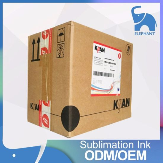 Good Quality Kiian E-Gold Dye Sublimation/Transfer Ink for Mutoh pictures & photos
