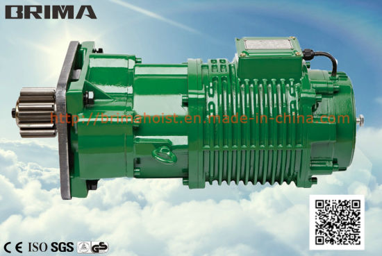 Brima 0.25kw High Quality Without Buffer Electric Crane Geared Motor (BM-030) pictures & photos
