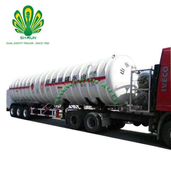 LNG Tanker Trailer Liquified Natural Gas Tank Truck Trailer pictures & photos