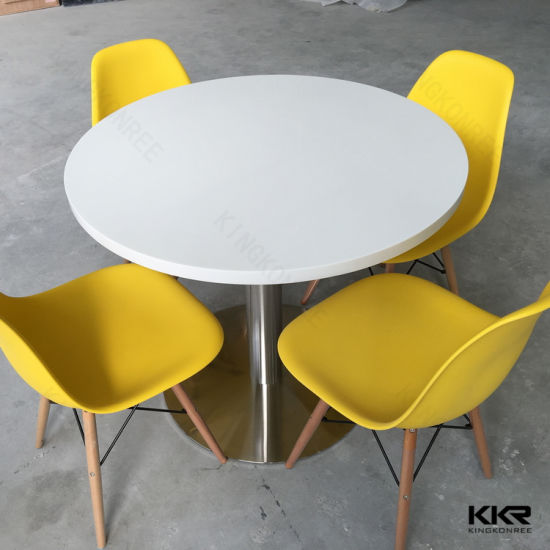 China Bespoke Acrylic Dining Table Set for 4 Persons - China