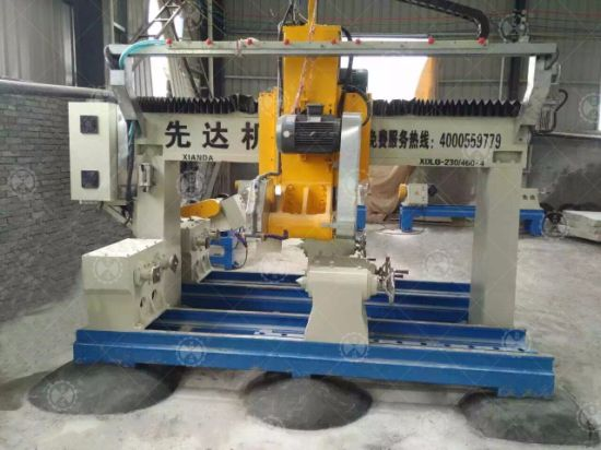 Stone Lathe Machine Granite Marble Special Shape Profiling Machine pictures & photos