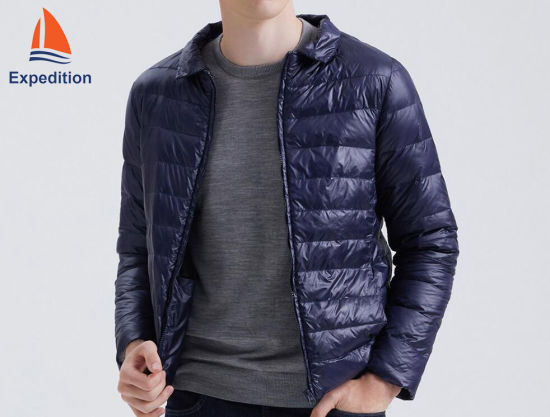 Fashion Ultra Light Down Jacket, Casual Jacket and Winter Jacket for Sports Wear, Garment, Clothes and Clothing Heated by Charger with Keeping Warm Technology