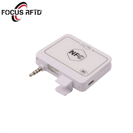 Audio Jack RFID Reader for Payment and Loyalty System