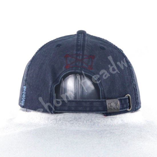 Applique Print and Embroidered Cotton Leisure Baseball Cap pictures & photos