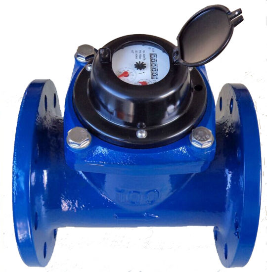 Woltman Type Water Meter with Pulse Transmmition 100 Liter Per Pulse pictures & photos