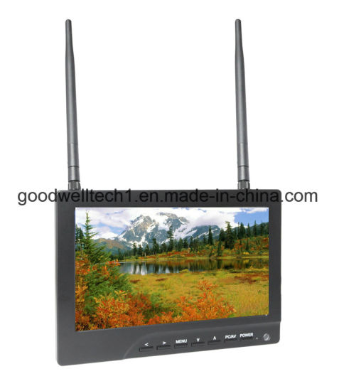 Aerial Photography 7 Inch TFT LCD Display, No Blue Screen pictures & photos