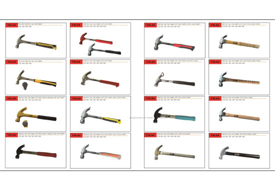Hammer Good Quality Claw Hammer with Curve TPR Handle pictures & photos