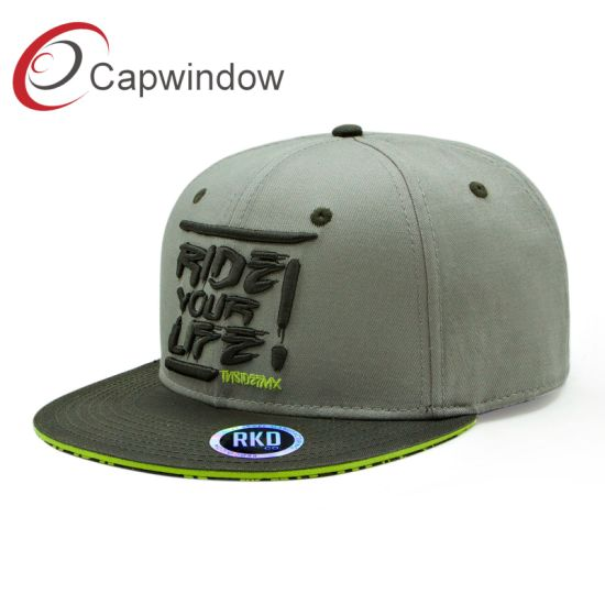 Ride Your Life Fashion Snapback Cap with Embroidery