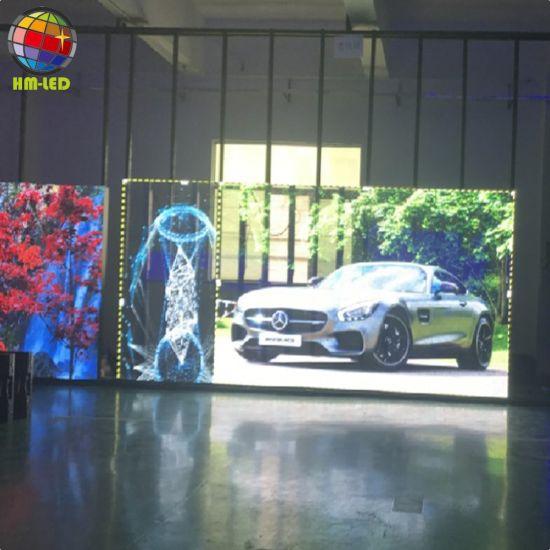 P7.82 - 7.82 Glass 1/8 Scan Transparent LED Display Screen
