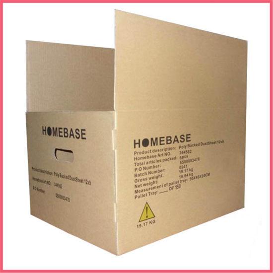 Custom Printed Cardboard Paper Packaging 3 Ply Carton Boxes