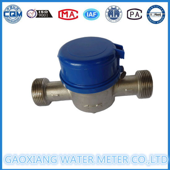 1′′ Inch Single Jet Brass Water Meter Single Water Meters pictures & photos