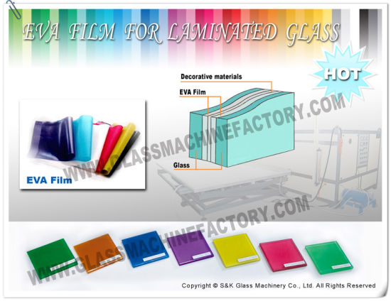 High Quality EVA Glass Laminated Film pictures & photos