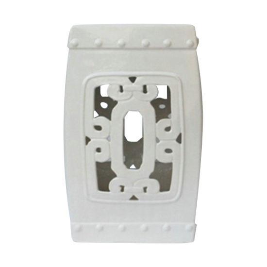 Fantastic Chinese Ceramic Hollow Ceramic Square Stool Ls 155 Ibusinesslaw Wood Chair Design Ideas Ibusinesslaworg