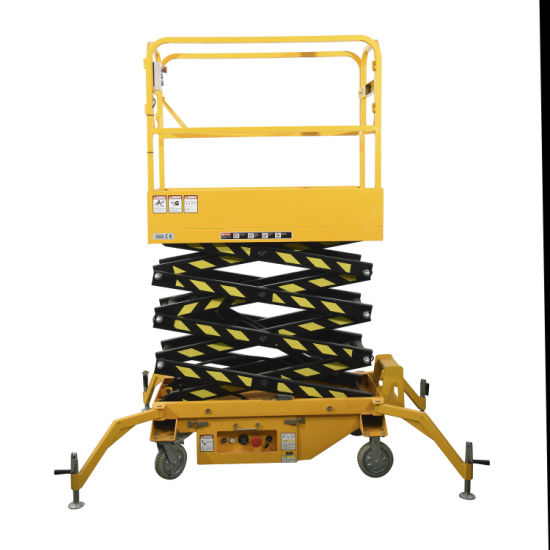 500kg Goods Lift Mobile Electric Scissor Lift Table for Construction Machinery