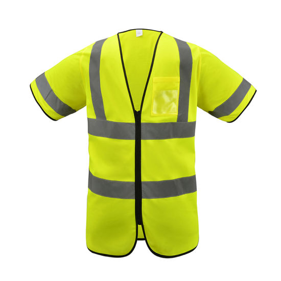 High Quality Wholes Ce Warning Traffic Reflective Safety Vest