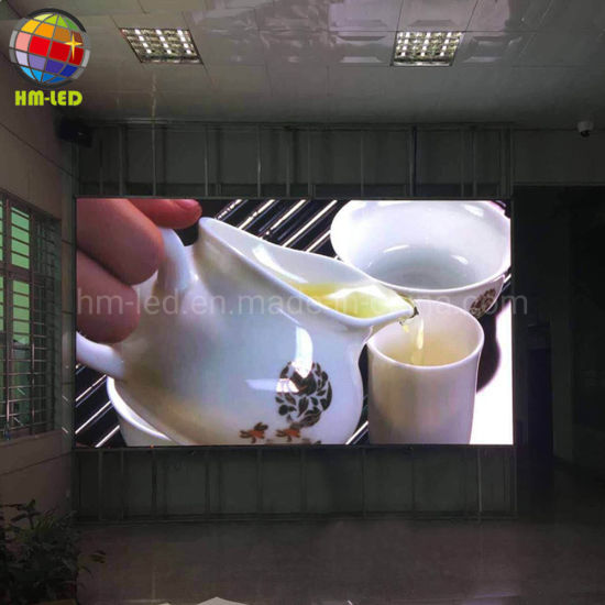 Small Pixel P2 Indoor Full Color LED Screen Display