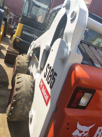 High Quality and Well Maintained Bobcat S185 Second Hand Loader for Sale