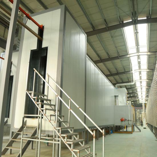 15t Liquid/Powder Coating Spray Production Line for Hardware