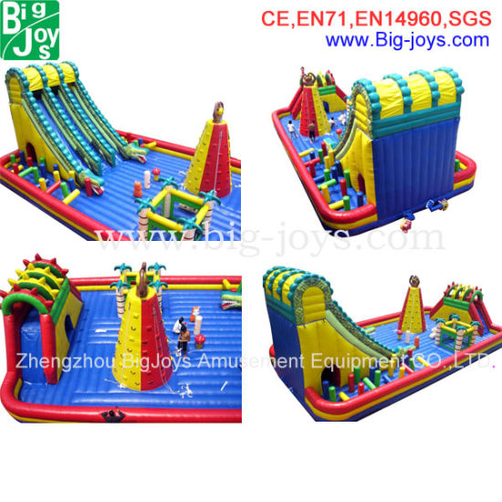 Large Inflatable Slide Playground Slide Bouncer Game (BJ-S07) pictures & photos