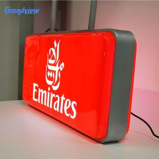 Hot Sale Custom Made Round Shape Vacuum Light Box