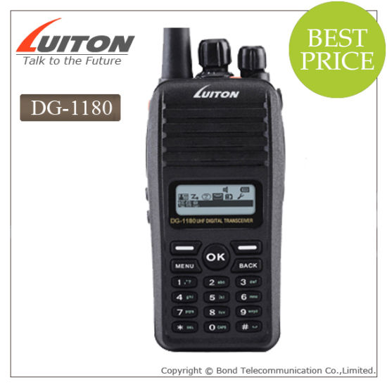 China Big LCD Dg-1180 Dpmr Digital 2 Way Radio - China