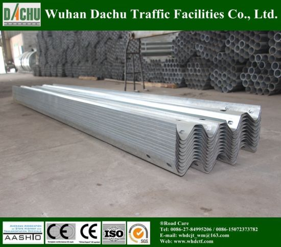 Corrugated Galvanized Highway Crash Barrier pictures & photos