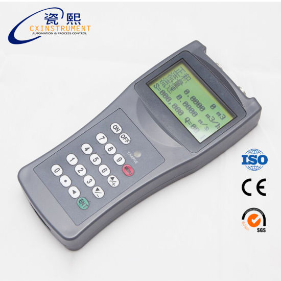 Ultrasonic Flow Meter Handheld Water Flow Meter pictures & photos